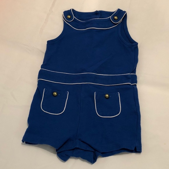 c900d0cb355 Janie and Jack Other - Janie and Jack Royal Blue Romper